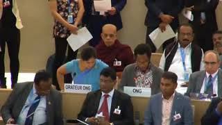 36th Session of the Human Rights Council - GD Item 9 - Mr. Mutua K. Kobia 26 September 2017