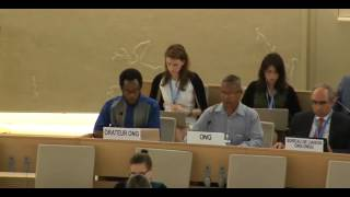 35th Session of the Human Rights Council - GD Item: 9 - Mr Mutua Kobia 20 June 2017