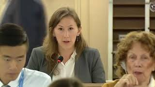 28th Special Session Human Rights Council - Human Rights Situation in Occupied Palestinian Territory - Ms. Madeleine Cowper