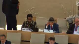 37th Session: Item 7: General Debate - Mr. Mutua K. Kobia, 20 March 2018