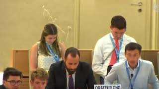 HRC 38th Session: Item 2 - General Debate - Konstantinos Kakavoulis, 19 June 2018