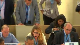 HRC 38th Session: Item 5 General Debate - Jennifer D. Tapia, 28 June 2018