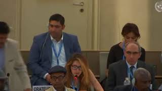 HRC 38th Session: Item 7 General Debate - Jennifer D. Tapia, 2 July 2018