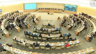 39th Session UN Human Rights Council - Item 5 GD with IGWG on Peasants - Christopher Gawronski