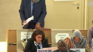 39th Session UN Human Rights Council - Item 7 General Debate on Palestine - Chiraz Khemakhem