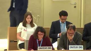 40th Session UN Human Rights Council - Humanitarian Crisis in Venezuela under GD Item 2 - Ms. Giulia Marini