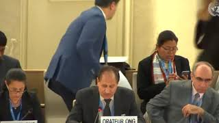 40th Session UN Human Rights Council - Human Rights Situation in Iraq under Item 4 - Naji Haraj