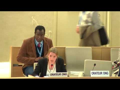 40th Session UN Human Rights Council - Impunity in Mali during ID with IE on Mali - Pia Siebert