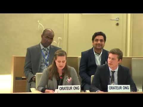 40th Session UN Human Rights Council - Violence and Hate Speech under GD Item 9 - Ariana Smith