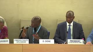 41st Session UN Human Rights Council - Response by the Commission of Inquiry on Burundi under Item 4