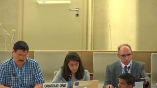 41st Session UN Human Rights Council - Racist Hate Speech in Europe under Item 9 - Aditi Ramakrishnan