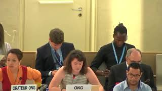 41st Session UN Human Rights Council - Human Rights Abuses in Central Mediterranean Sea under Agenda Item 4 - Giulia Marini