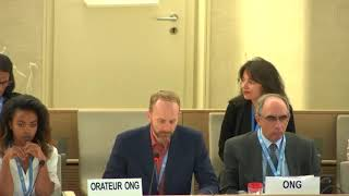 41st Session UN Human Rights Council - Palestinian Women in Detention under Agenda Item 7 - Christopher Gawronski