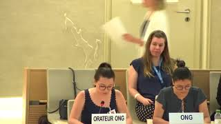 41st Session UN Human Rights Council - Discrimination against Female Migrants during ID with Special Rapporteur on Migrants - Isabela Zaleski Mori