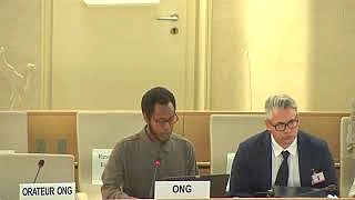 42nd Session UN Human Rights Council - Historical Structural Barriers toward People of African Descent under Item 9 ID with WGPAD - Mutua K. Kobia