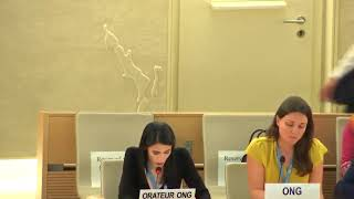 42nd Session UN Human Rights Council - Human Rights and Humanitarian Situation in Myanmar - Lubna Sarra