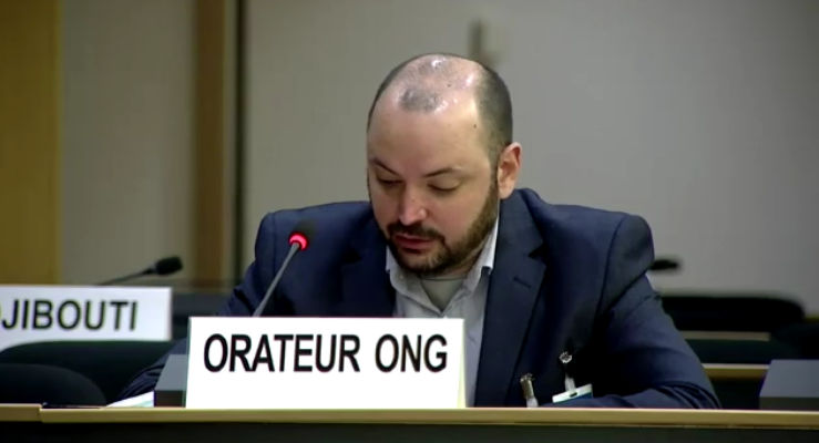 45th Session UN Human Rights Council - Israel's Human Rights Violations - Mathieu Fournier