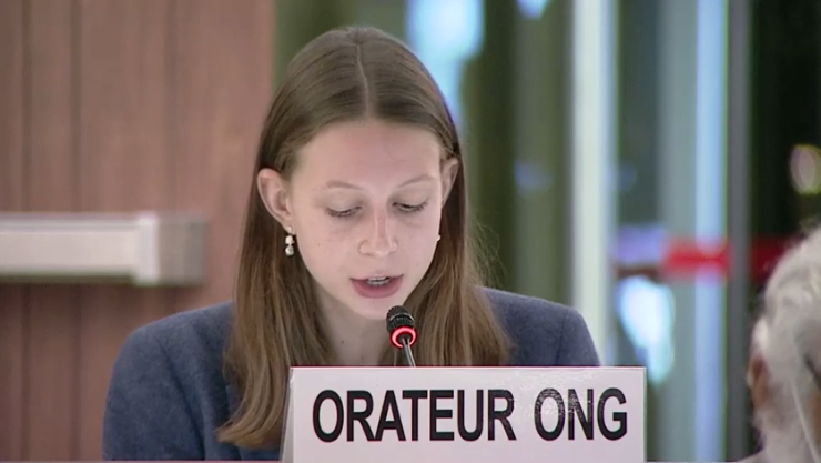 45th Session UN Human Rights Council - Accountability of Crimes in Libya - Malina Gepp