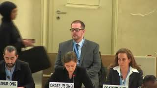 43rd Session UN Human Rights Council - Violations against Protestors in Occupied Palestinian Territories - Charlotte Taillon