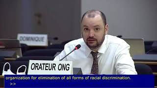 44th Session UN Human Rights Council - Internally Displaced Persons in Iraq - Mr. Mathieu Fournier