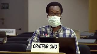 44th Session UN Human Rights Council - Trafficking in Conflict Zones - Mr. Mutua K. Kobia