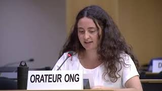 45th Session of the UN Human Rights Council - Political Prisoners in Nicaragua under General Debate Item 2 - Diane Gourdain