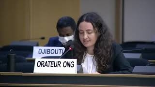 45th Session UN Human Rights Council: Deplorable human rights situation in Yemen under General Debate Item 3 - Diane Gourdain