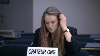 45th Session UN Human Rights Council: Widespread issue of arbitrary detention under General Debate Item 3 - Hannah Bludau