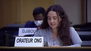 45th Session UN Human Rights Council: Enforced disappearances & arbitrary detentions in Syria - Diane Gourdain