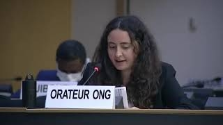 45th Session UN Human Rights Council - The dire human rights situation in Yemen - Diane Gourdain