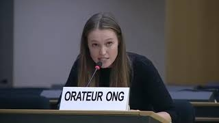 45th Session UN Human Rights Council - Systematic and widespread human rights violations in Iraq - Hannah Bludau