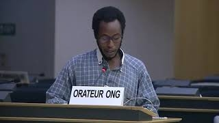 45th Session UN Human Rights Council - Widespread use of arbitrary detention in Iraq - Mutua K. Kobia