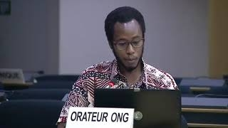 45th Session UN Human Rights Council: Keys towards repatriation of Indigenous culture under Item 5 - Mutua K. Kobia