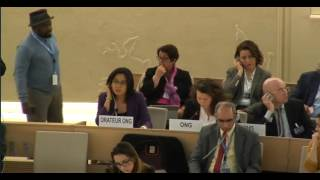 34th Session of the Human Rights Council - Panel Discussion on Human Rights in Syria - Ms Giulia Squadrin - 14 March 2017