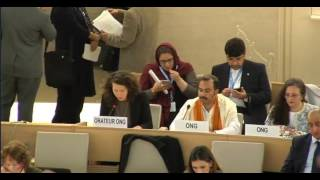 34th Session of the Human Rights Council -  GD Item: 4  - Ms Giulia Squadrin - 14 March 2017